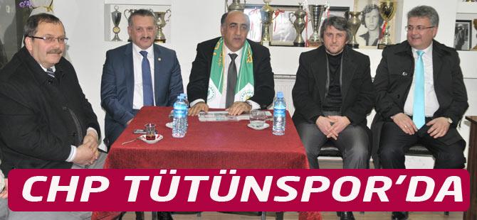 CHP Adayı Öztürk Tütünspor'da