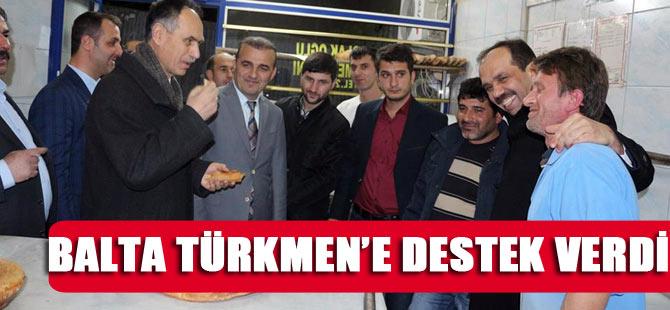 AK Parti'ye Salacık'ta Bakan Desteği