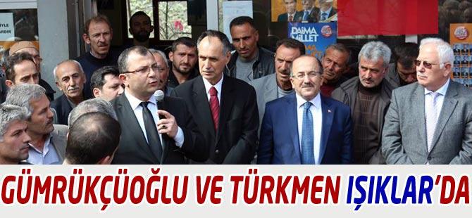 AK Partililer Işıklar'da