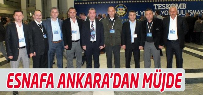 İsmail Bulut Ankara'dan Esnafa Müjde İle Dönüyor.