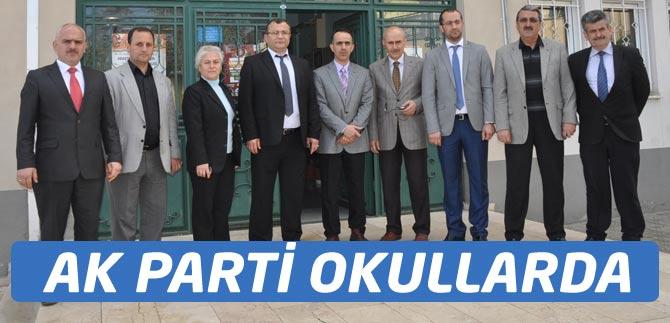 AK Parti Okulları Gezdi