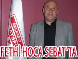 Fethi Hoca Takımın başında