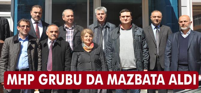 MHP Meclis Üyeleri Mazbata Aldı
