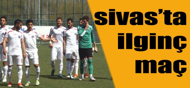 Akçaabat FK Sivas Maçında ilginç Olay
