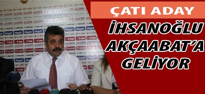 İhsanoğlu'nun ikinci durağı Trabzon olacak.