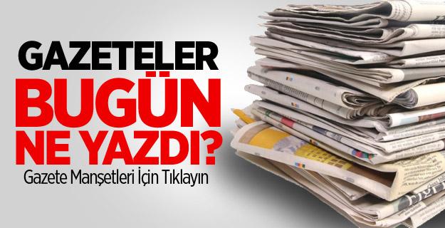 Ulusal Gazete Manşetleri
