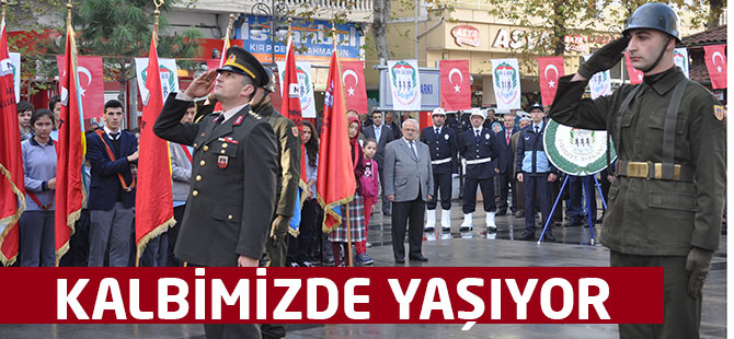 Atatürk Anıldı