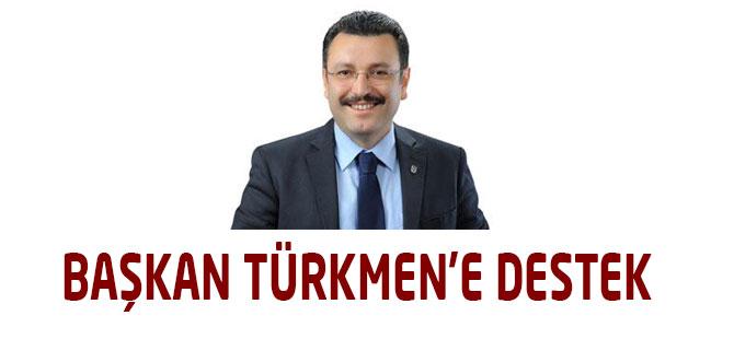 Ortahisar'dan Başkan Türkmen'e destek geldi.