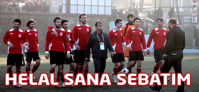 Akçaabat Sebatspor Yalıspor'u mağlup etti.