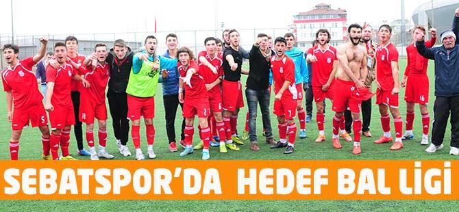 Sebatspor'da  Gözler Play-Off'ta