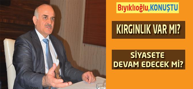 AK Parti'de liste dışı kalan Trabzon Milletvekili . Aydın Bıyıklıoğlu, konuştu.