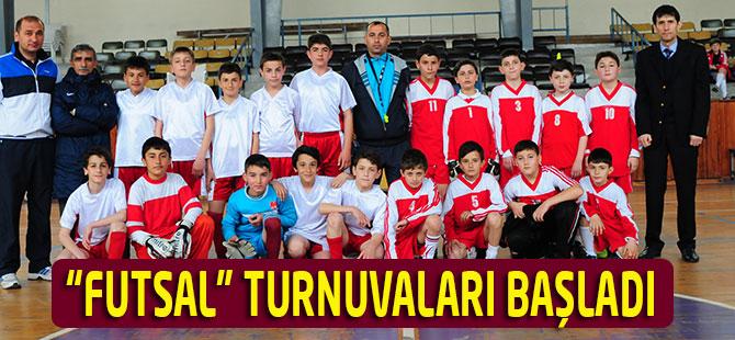 """""""Futsal"""" Turnuvaları Başladı"""