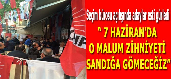 Adaylar Esti Gürledi