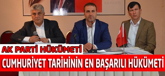 AK Parti Cumhuriyet tarihinin en başarılı hükümeti