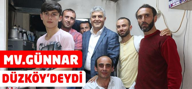 Günnar Düzköy'deydi