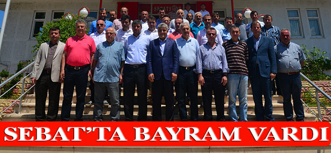 Akçaabat Sebatspor'da bayramlaşma