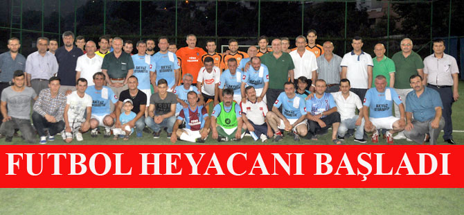 Futbol Turnuvası Start Aldı