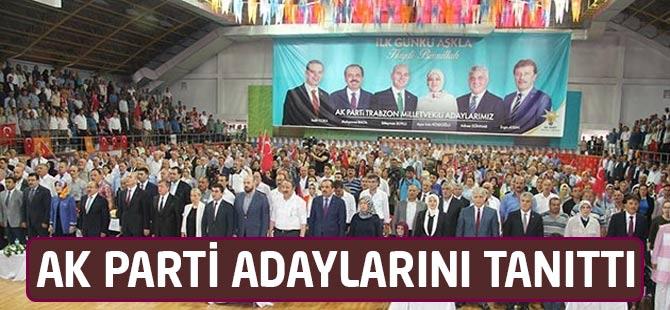 AK Parti  bayramlaşma ve aday tanıtım töreni yapıldı.