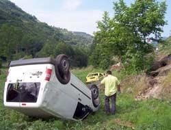 Yine Kaza 4 Yaralı