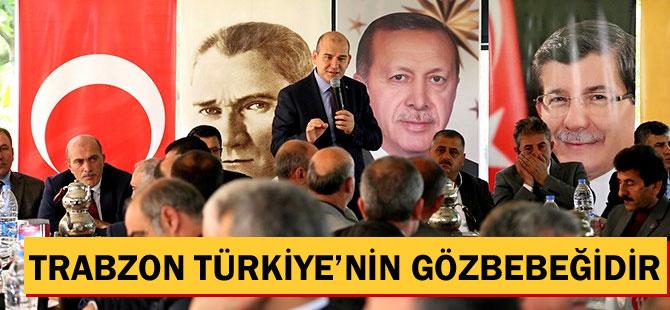 """Soylu """"Trabzon, Türkiye'nin gözbebeğidir"""""""