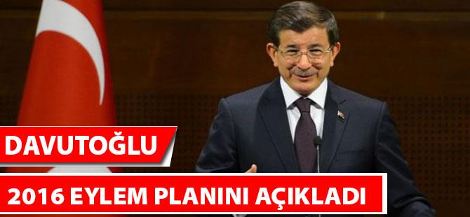 Davutoğlu, 2016 Eylem Planını Açıkladı