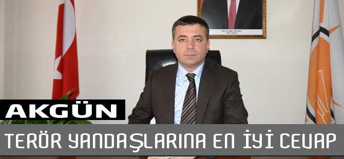 """Akgün """"Bakanımız Soylu Bir  Duruş Sergiledi"""""""