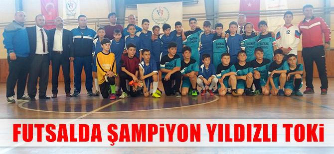 Futsalda Şampiyon Yıldızlı Toki