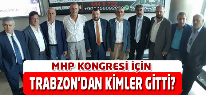 Trabzon'dan Kimler Gitti?