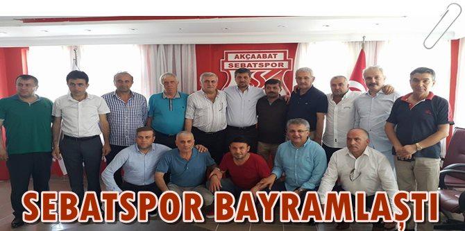 Sebatspor'da Bayram