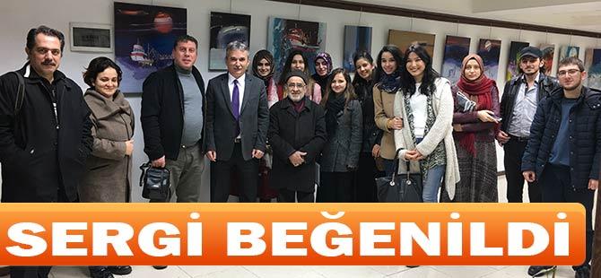 Şeyihoğlu  5. kişisel resim sergisini Akçaabat'ta açtı.