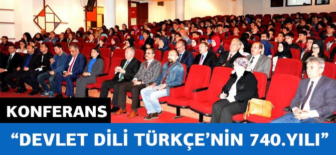 Devlet Dili Türkçe'nin 740. Yılı