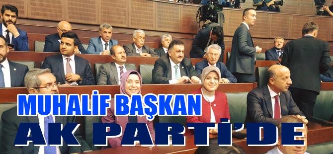 Muhalif Başkan AK Parti'de