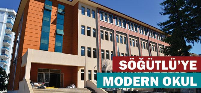 Söğütlü'ye Modern Okul