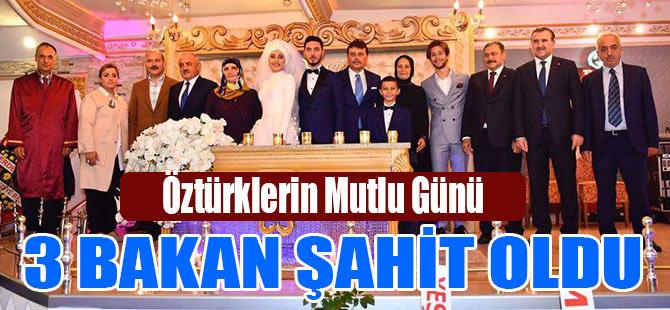 Bakanlar Nikah Şahitliği Yaptı...