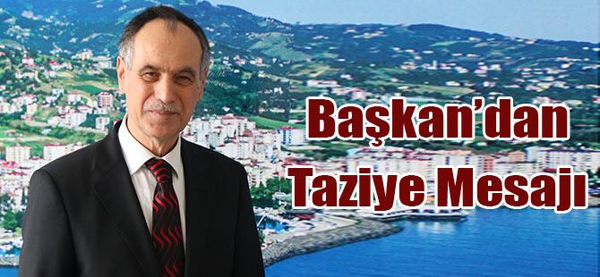 Türkmen'den Taziye Mesajı