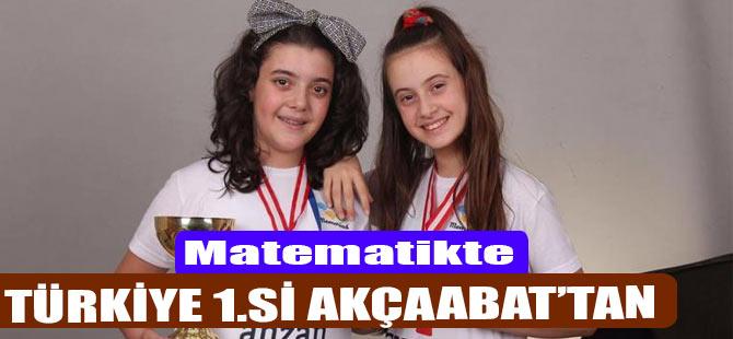 Türkiye 1.Si Akçaabat'tan