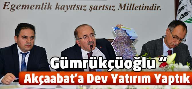 Başkan Gümrükçüoğlu Rakamlarla Konuştu