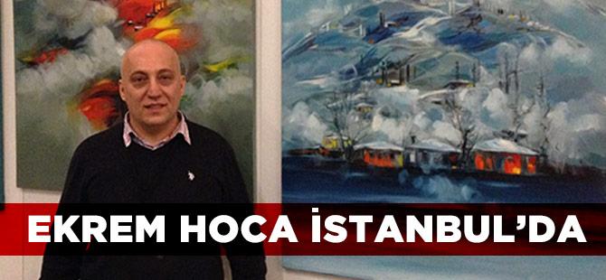 Ekrem Hoca 18. Resim Sergisini İstanbul'da Açıyor.