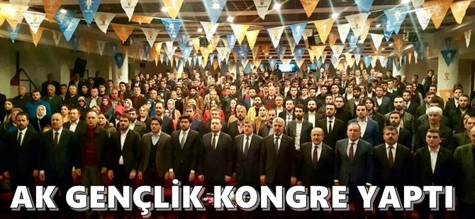 AK Gençlik Kongre Yaptı