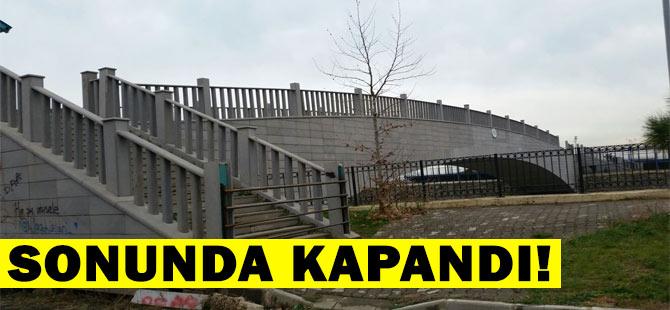 Sonunda Köprü Kapatıldı