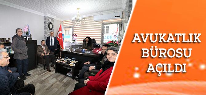 Akçaabat'ta Avukatlık Bürosu Açıldı