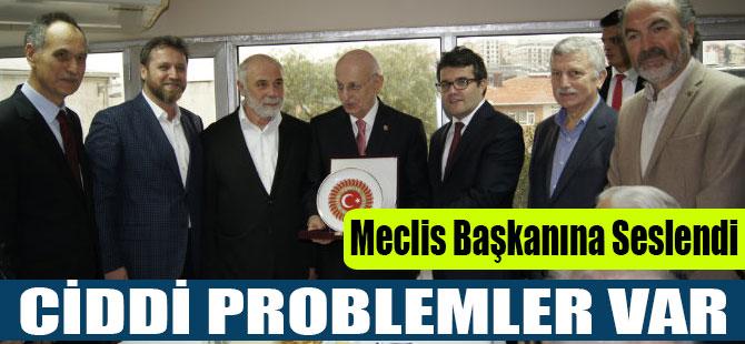 "Türkmen'den  Meclis Başkanına ""Ciddi Problemler Var"""