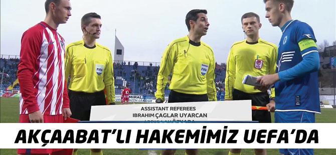Akçaabat'lı Hakemimiz Uefa'da