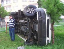 Kavaklıda Kaza 2 Yaralı