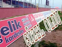 Fatih Stadında Reklam Panoları