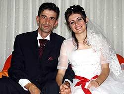 Derya İle Murat evlendi
