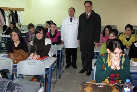 Türkmen, Yüksekokulda