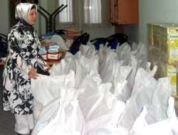 AKPden Ramazan yardımı