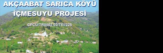 Sarıca Köyü İçmesuyu Projesi