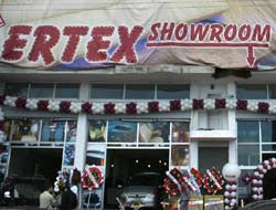 Ertex showroom açıldı.